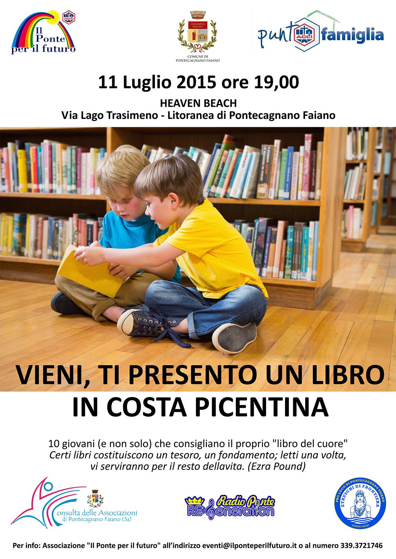 Vieni, ti presento un libro in Costa Picentina – 11 Luglio
