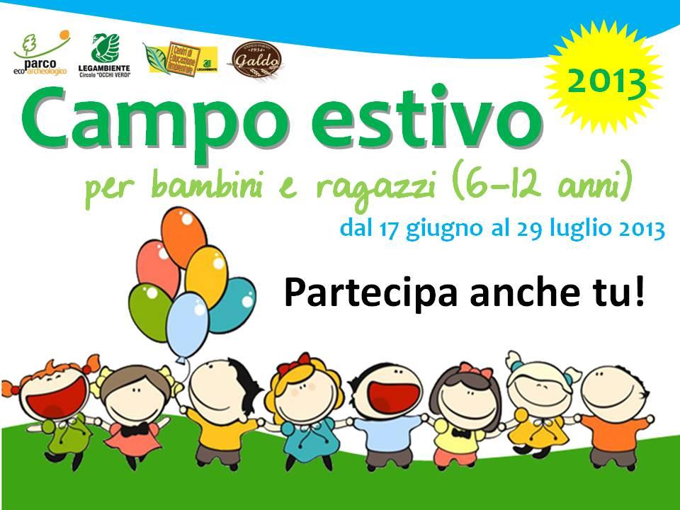 Campo estivo per bambini e ragazzi (6 – 12 anni)