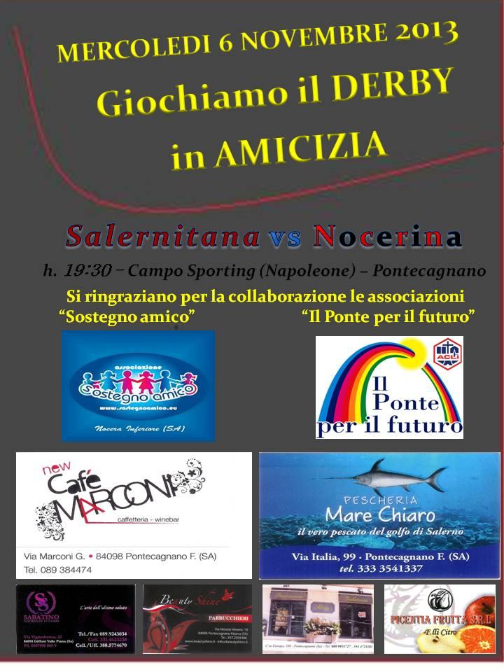 GIOCHIAMO IL DERBY IN AMICIZIA!