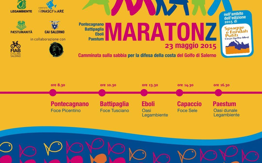 Spiagge e Fondali Puliti 2015, il 23 Maggio una speciale maratona sul litorale salernitano.