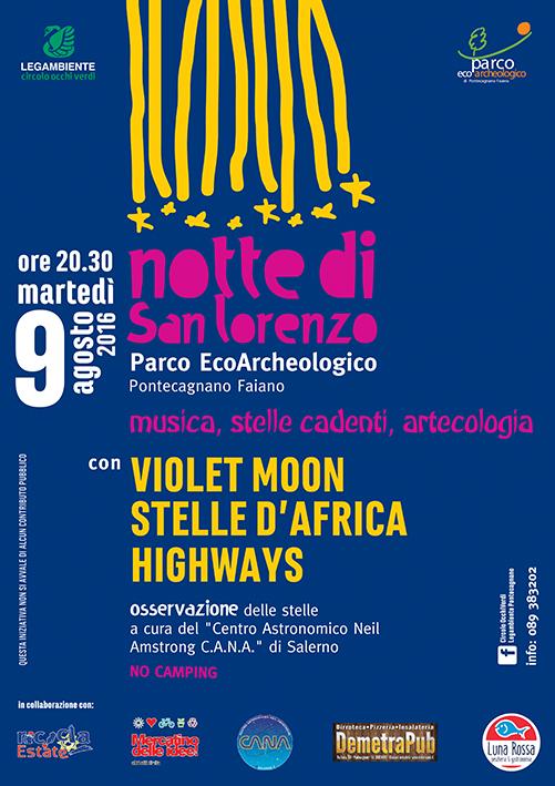 Notte di San Lorenzo live dal Parco Eco-Archeologico con Radio Ponte