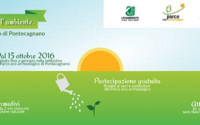 """Legambiente Pontecagnano, corsi di formazione gratuiti """"In armonia con l'ambiente"""""""