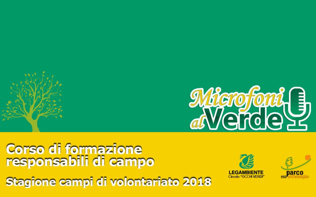 Puntata n.31 –  Campi di volontariato 2018