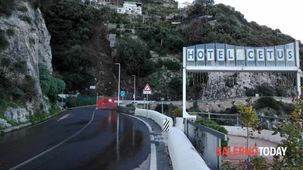 Frana in Costiera Amalfitana, riapre la SS163 a Cetara