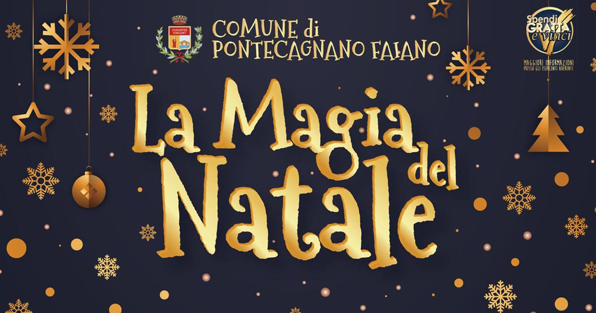 LA MAGIA DEL NATALE: presentato il cartellone degli eventi natalizi di Pontecagnano