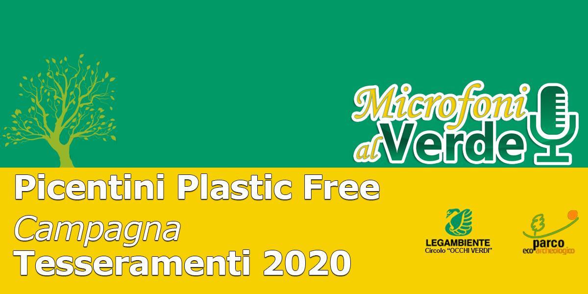 Puntata n.40 – Progetto Picentini Plastic Free e Campagna di Tesseramento 2020