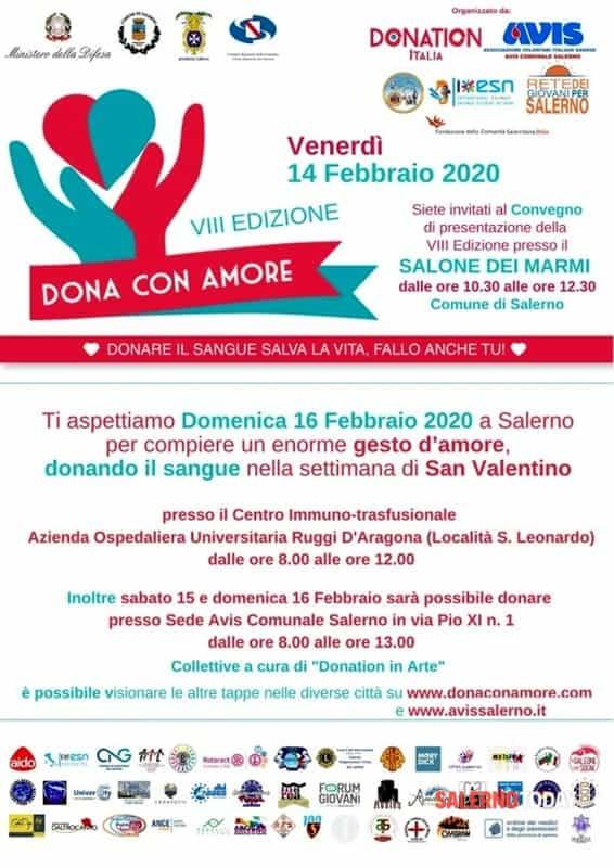 """Alcune associazioni di Pontecagnano Faiano partecipano alla """"VIII edizione di Dona con Amore """""""