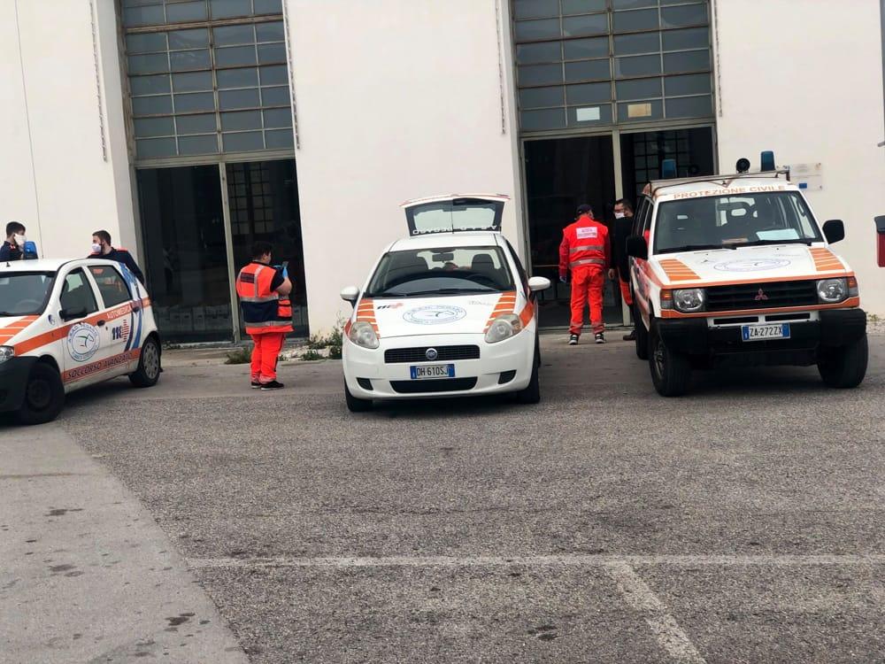 """Covid-19 a Pontecagnano, l'appello della Protezione Civile: """"Servono le mascherine"""""""