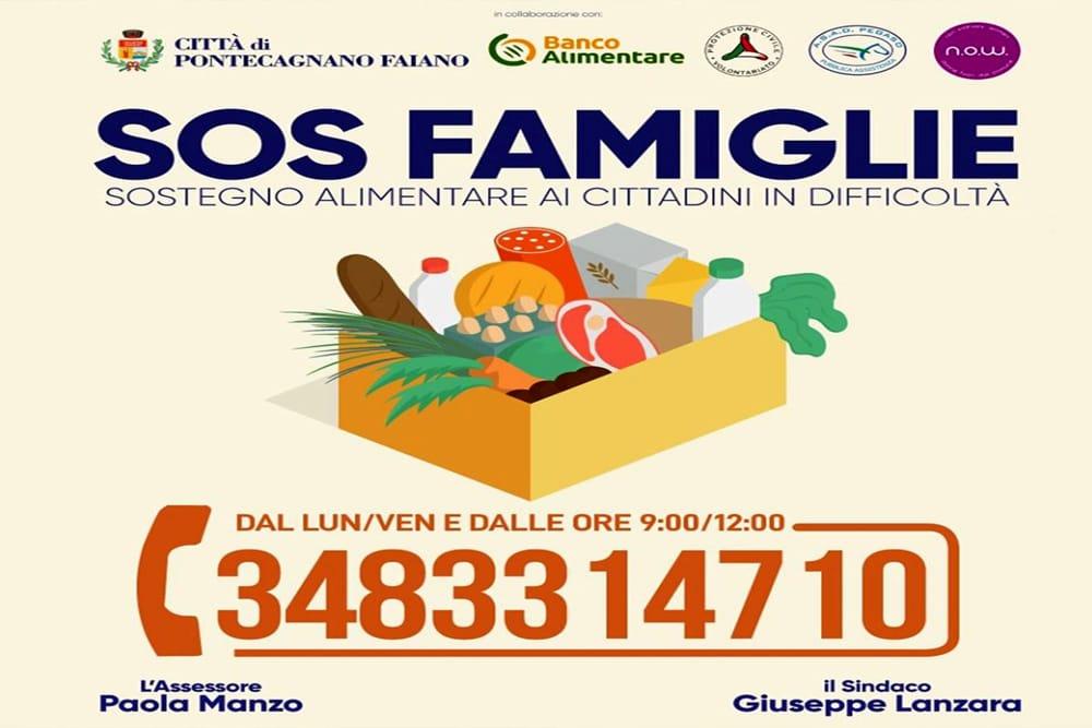 SOS Famiglie: sostegno alimentare per famiglie in difficoltà