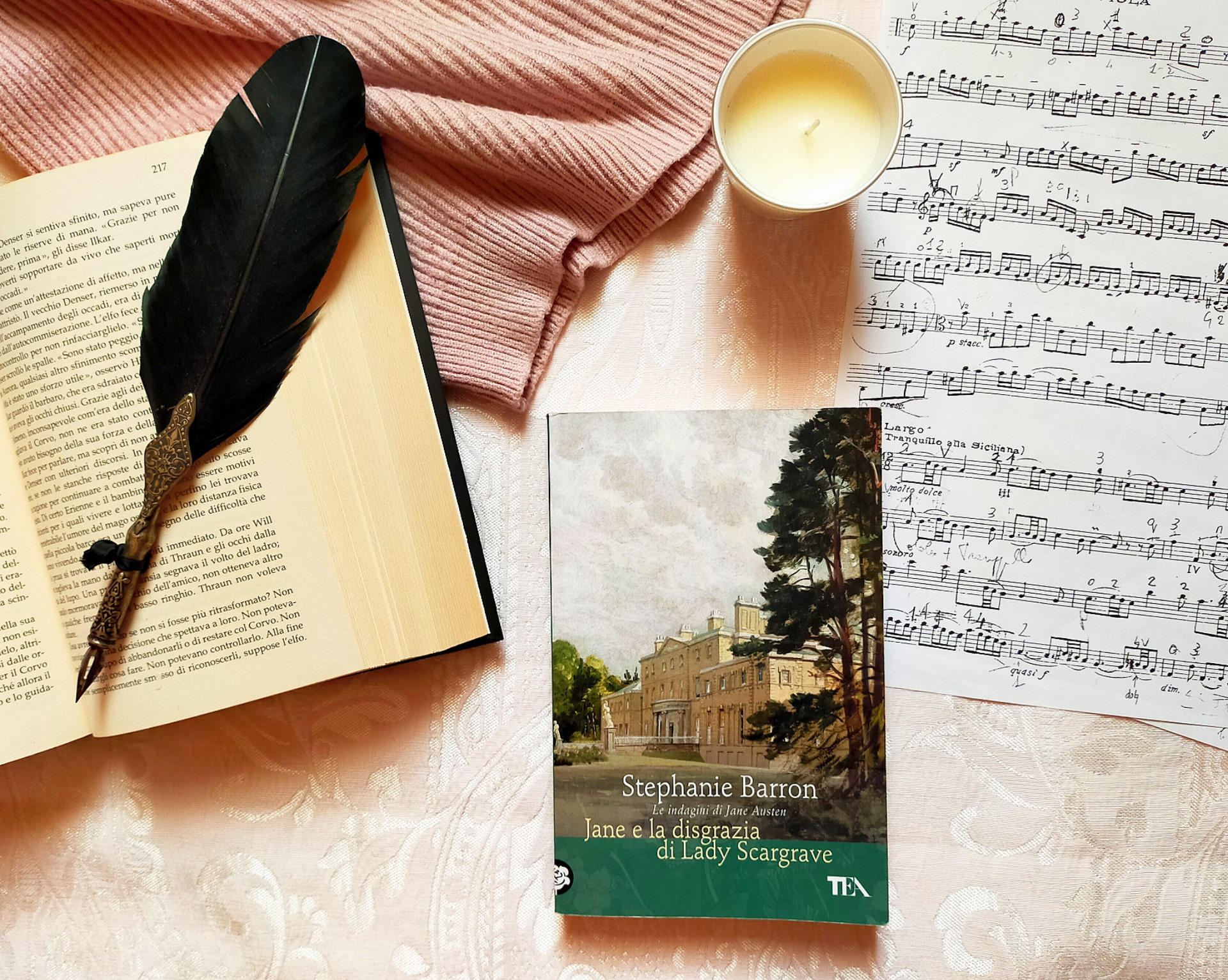 """MAGGIO DEI LIBRI: """"La disgrazia di Lady Scargave"""", Jane Austen indaga"""