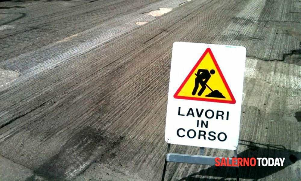 Lavori sulla Statale Amalfitana, strada chiusa a Cetara: i disagi