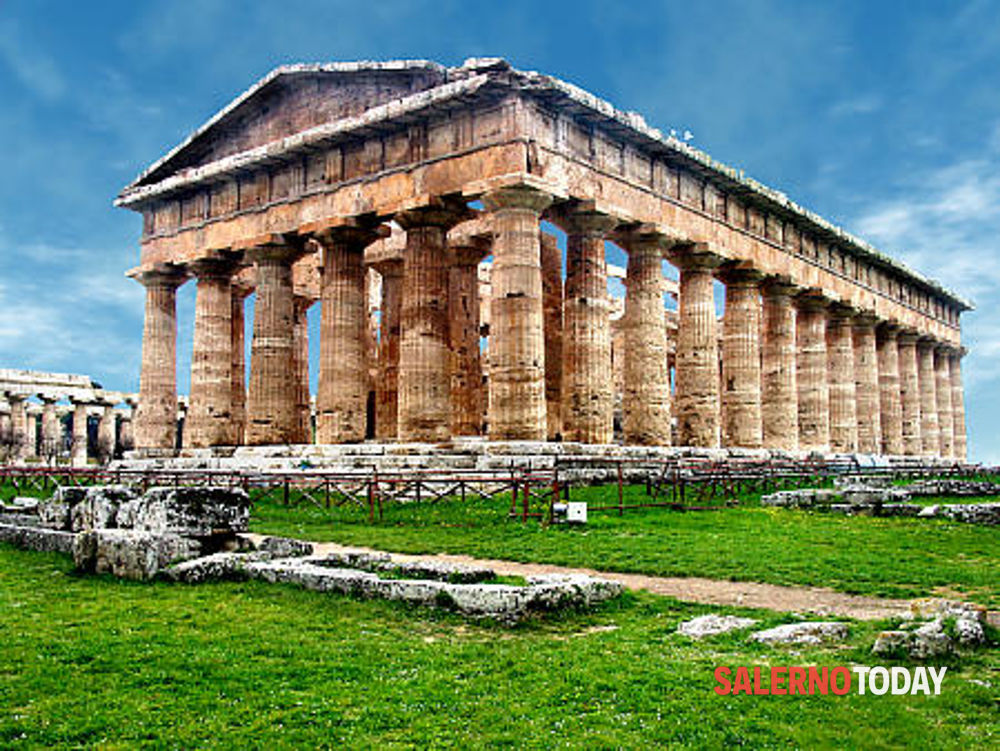 Paestum, importante scoperta: riemergono i resti di Porta Aurea