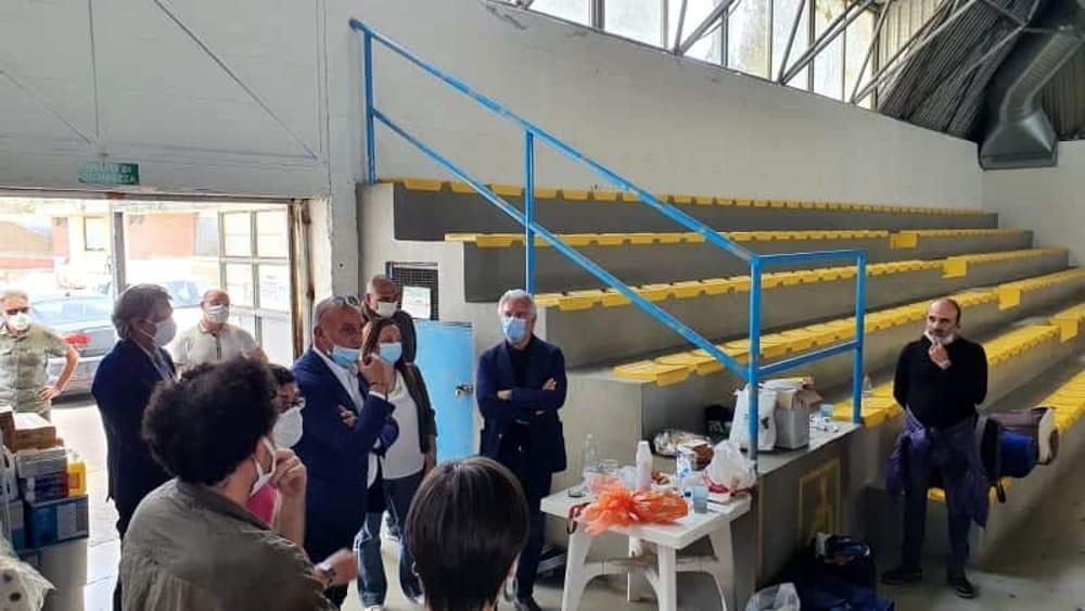 Progetto concluso al Palatulimieri: la visita di sindaco e assessore e l'attenzione internazionale per l'iniziativa
