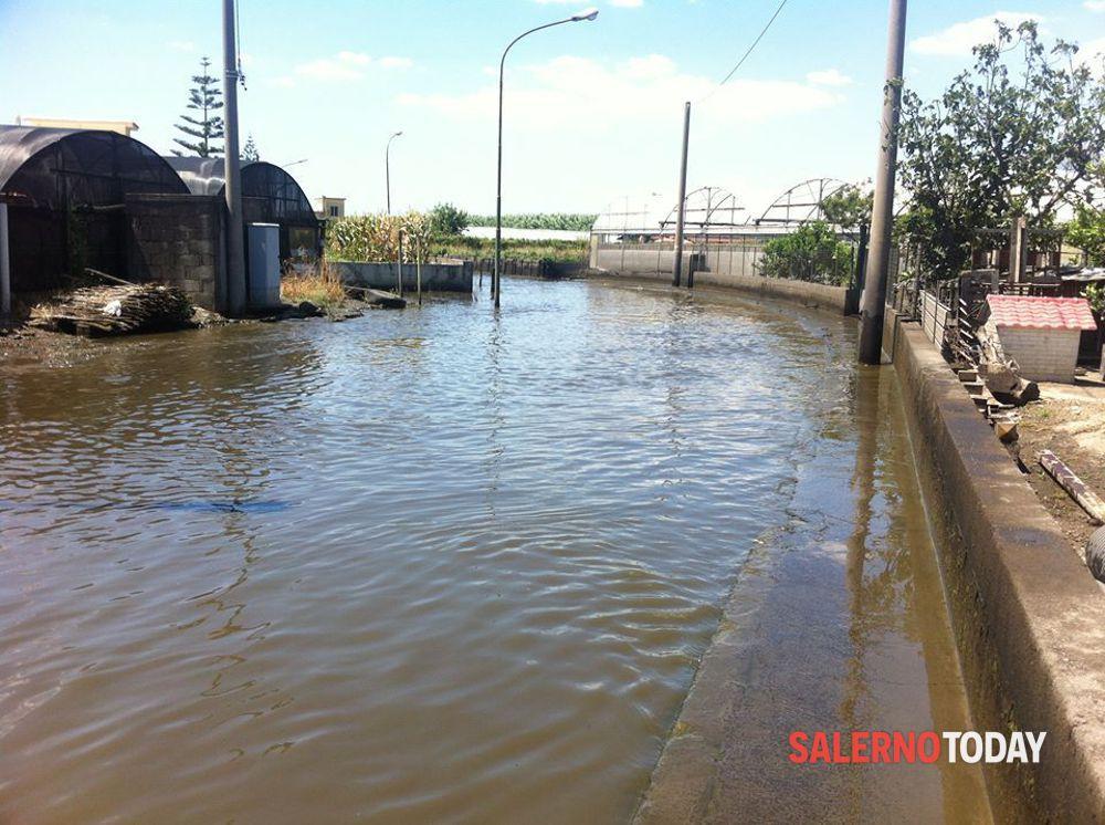 Scarichi inquinanti nel fiume: multato imprenditore di Scafati