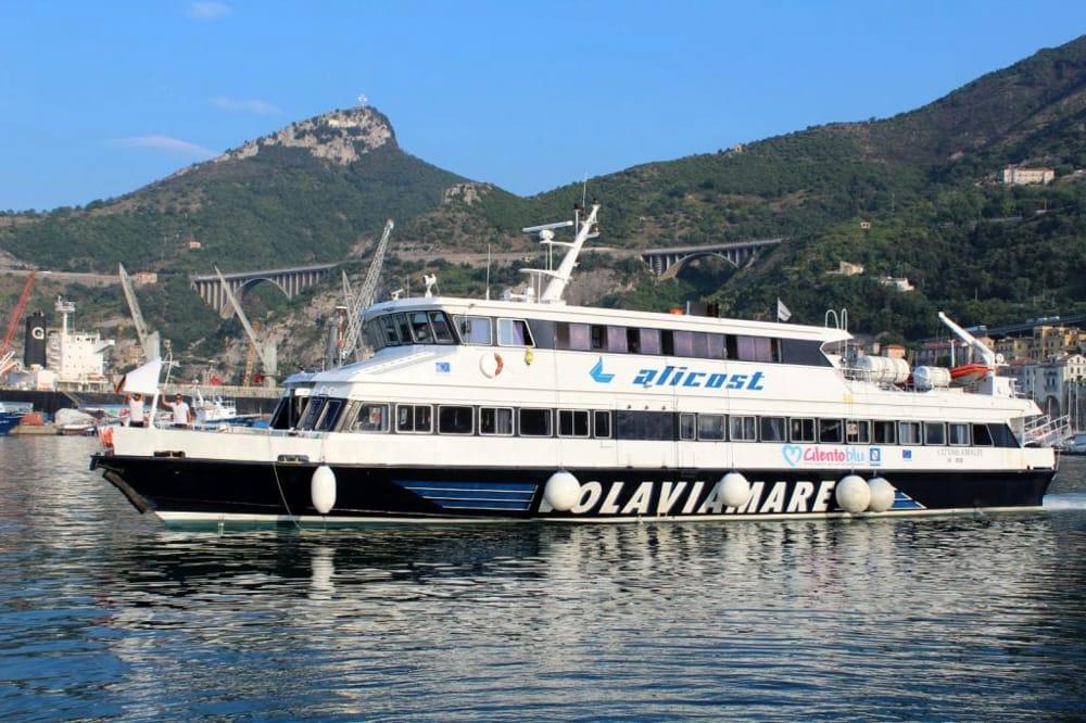 Salerno-Isole Eolie: al via i collegamenti con Alicost