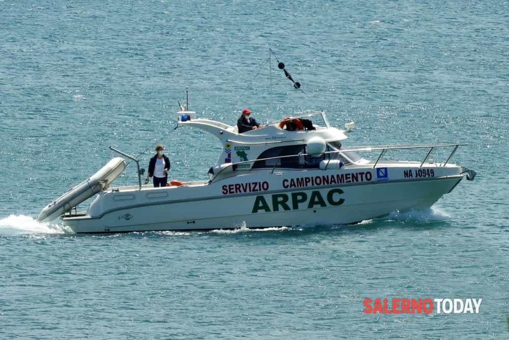 Estate 2020, i controlli dell'Arpac nel mare: ecco il report