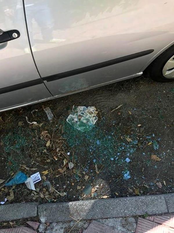 """Vandalizzate le auto in via Sorgente, i residenti: """"Più controlli"""""""