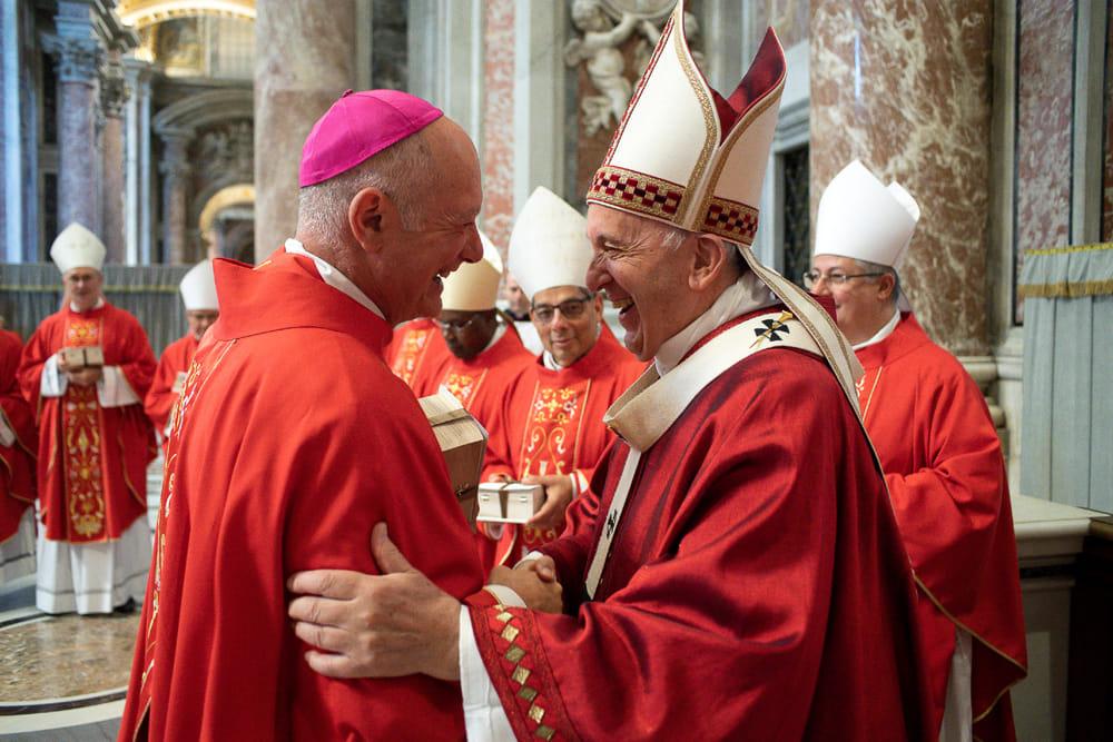 Curia di Salerno: Bellandi incontra Papa Francesco, riconoscimento per don Marco Russo