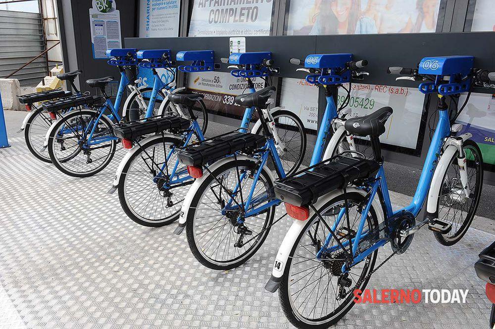 Bike sharing a Salerno: la mappa