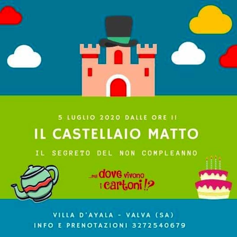 """L'incanto, la fantasia e il """"non compleanno"""": fiaba al castello di villa d'Ayala"""