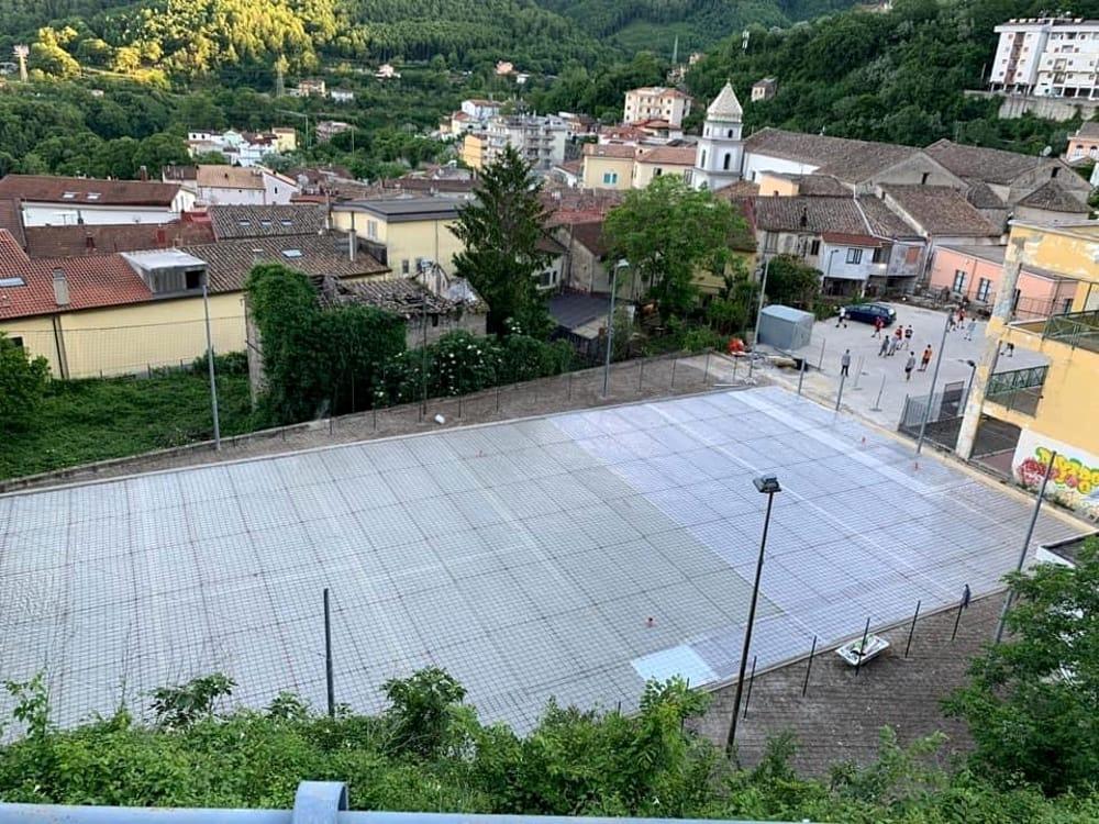 Campo polivalente di Pellezzano: c'è il bando di gara per l'affidamento