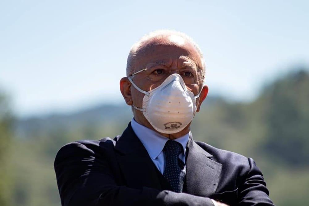 """Fase 3, De Luca a Baronissi: """"Entro ottobre vaccinazioni antinfluenzali"""""""