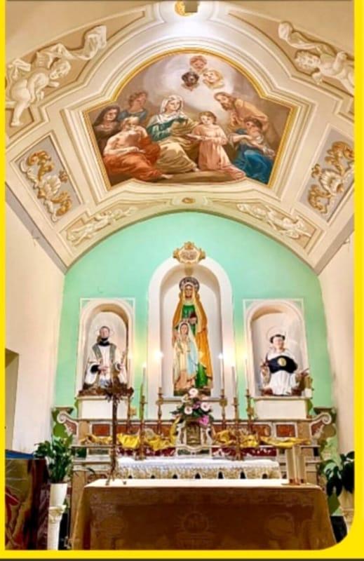 Festa di Sant'Anna a Cava de' Tirreni: Messa all'aperto, preghiera post Covid