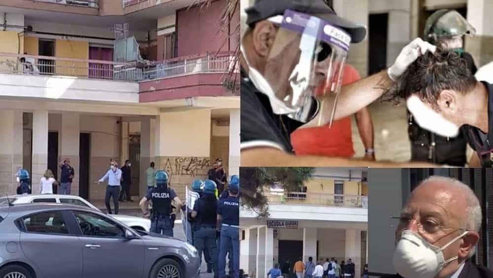 Covid-19, Mondragone tra risse e feriti: alcuni bulgari in fuga verso il salernitano