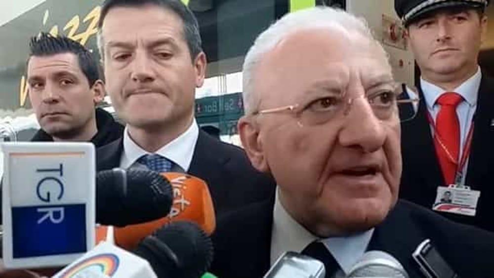 """Mondragone: fermati i """"fuggitivi"""" nella Piana del Sele, parla De Luca"""