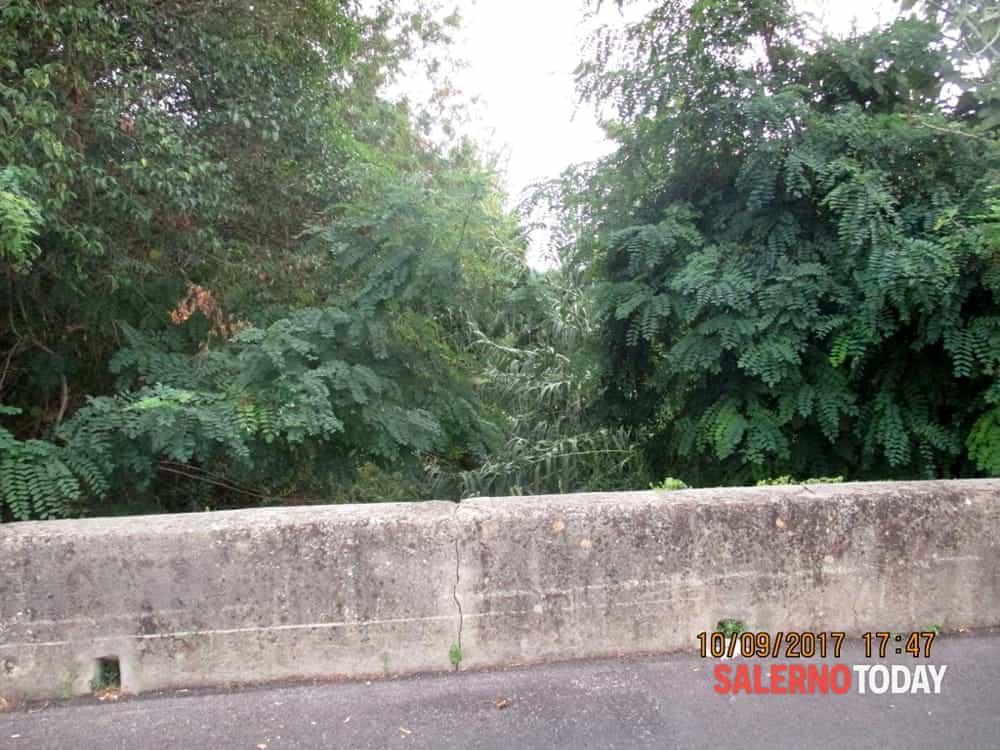 Torrente di Mariconda ingrossato per lo svuotamento della condotta: l'avviso di Salerno Sistemi