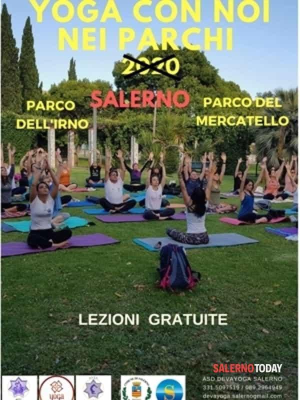 """Non si terrà """"Yoga nei parchi"""" quest'estate a Salerno"""
