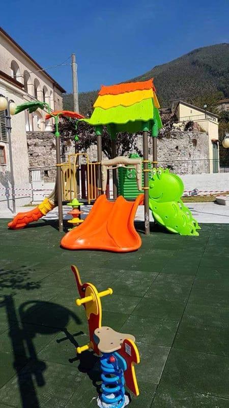 Inaugurazione del nuovo Parco Giochi della frazione Cologna di Pellezzano
