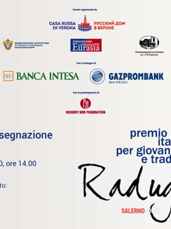 Premio Raduga 2020: il 19 giugno la premiazione online, tra i finalisti anche Sydney Vicidomini (Mercato San Severino)