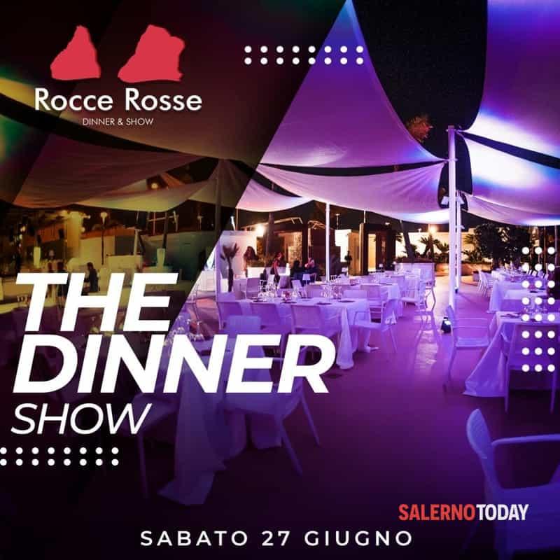 """Sabato 27 giugno la dinner-show cena-spettacolo alle """"Rocce Rosse"""" di Salerno"""