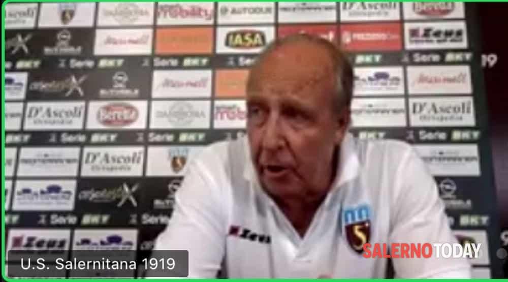 Salernitana post Covid: Gian Piero Ventura in conferenza su Zoom