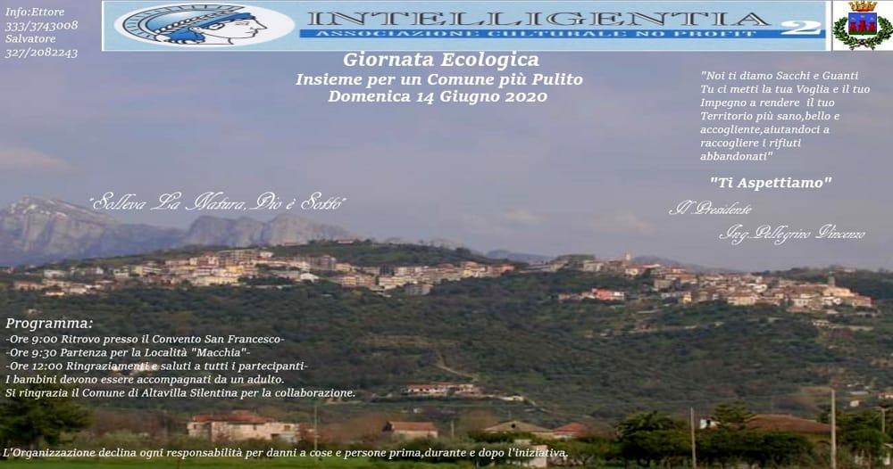 Giornata ecologica ad Altavilla Silentina: l'appello dell'ingegnere Pellegrino