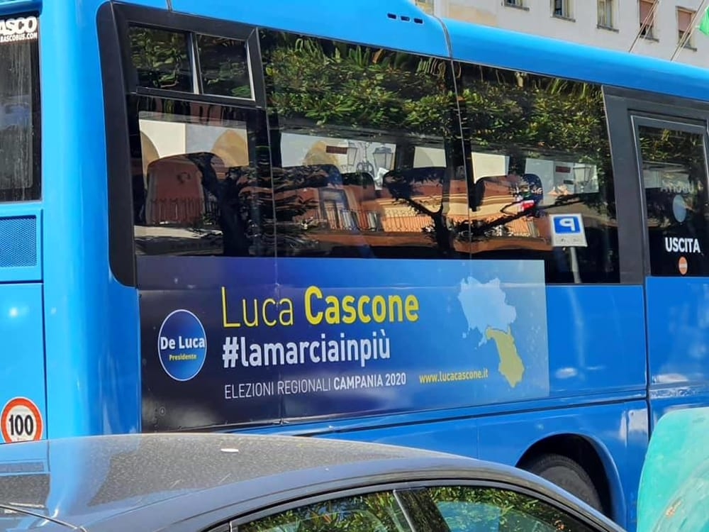Pubblicità elettorali sui mezzi di trasporto per pubblico servizio: l'affondo di Celano
