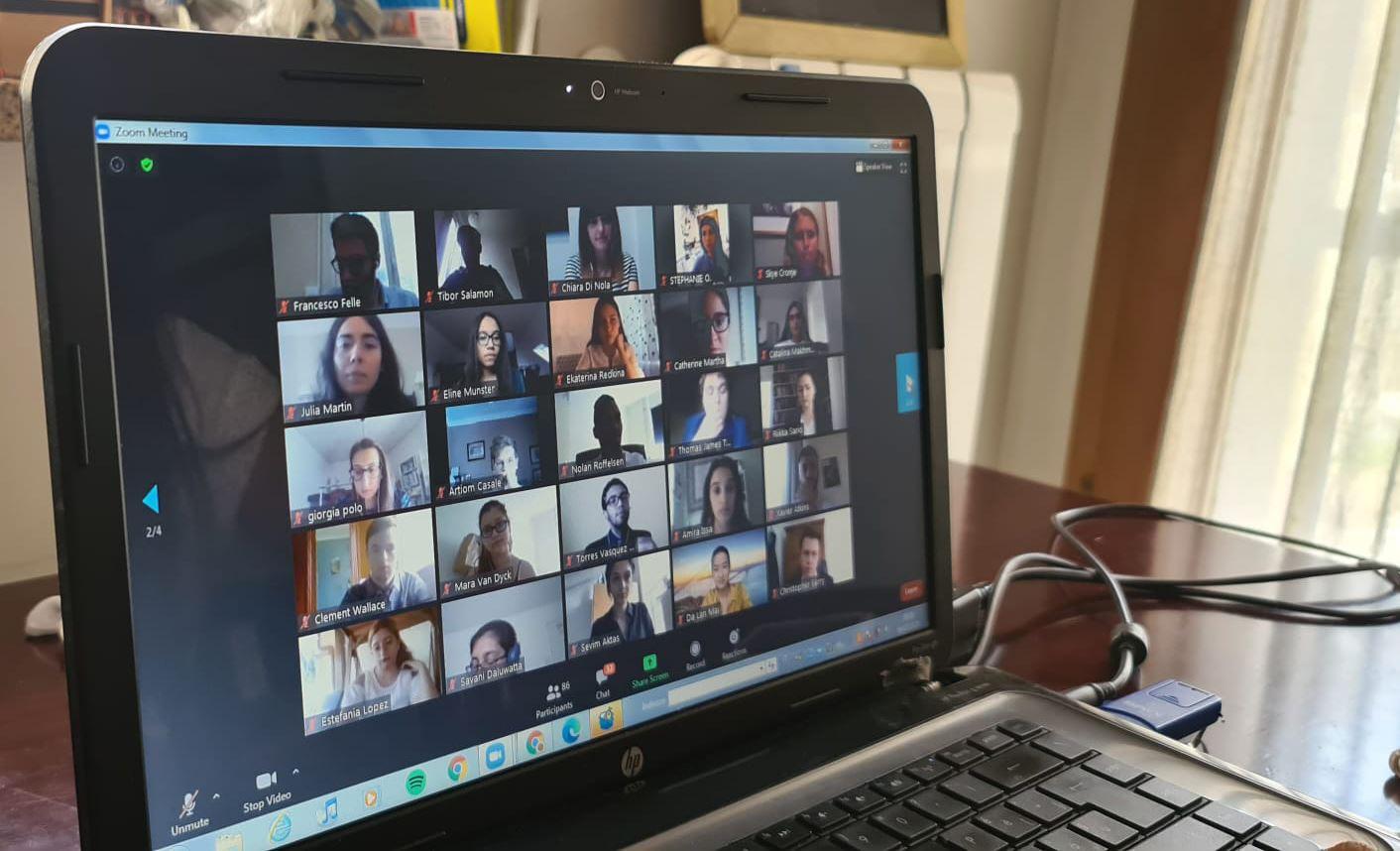 """Fondazione """" La Città del Futuro"""", i giovani di Pontecagnano Faiano protagonisti del progetto """"EastWest Online Model European Union""""."""