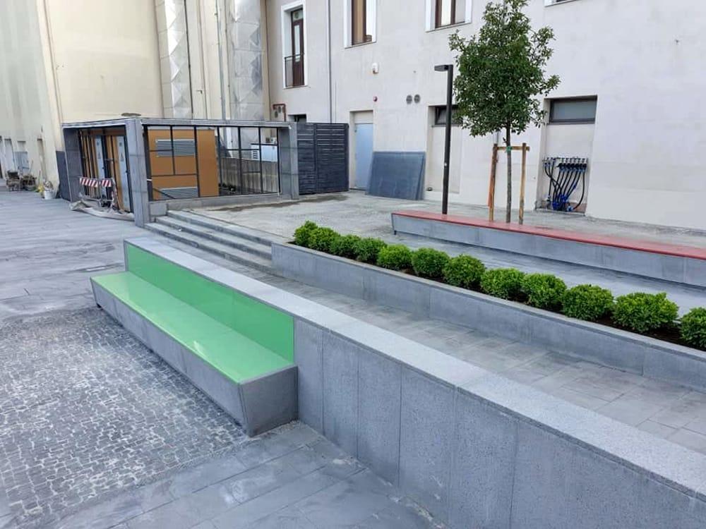 Nuova piazza a Cava: l'inaugurazione con De Luca, le foto