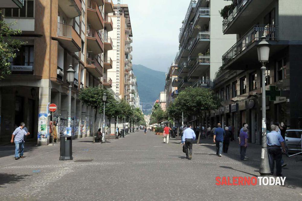 Salerno, via libera al restyling del Corso: ripartono i lavori
