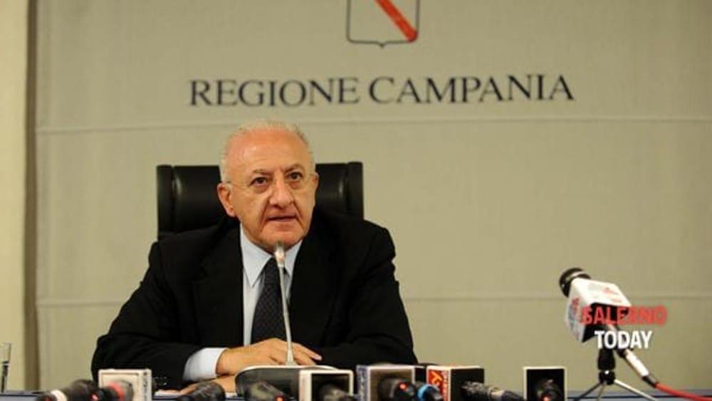 """Battuta su Zingaretti con Vespa, De Luca: """"Incredibili strumentalizzazioni"""""""