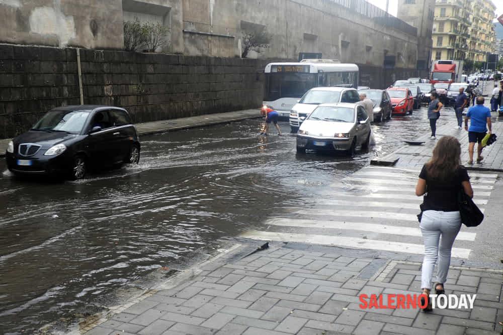 Maltempo in Campania: scatta l'allerta meteo Gialla, le previsioni