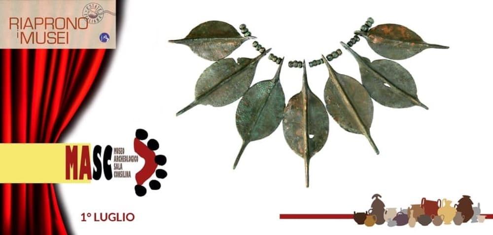 Scrigni d'arte: riapre al pubblico il Museo Archeologico di Sala Consilina