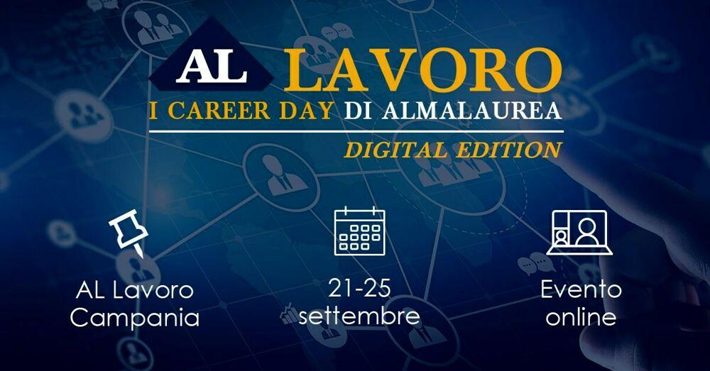 """""""AL Lavoro - Digital Edition"""": il nuovo format di career day arriva all'Unisa"""