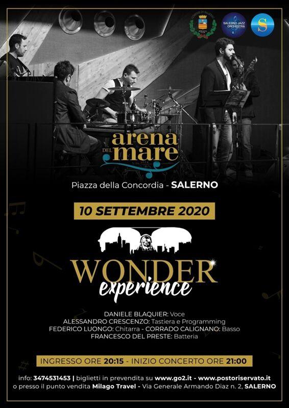 Concerto soul-jazz all'Arena del Mare: omaggio a Stevie Wonder