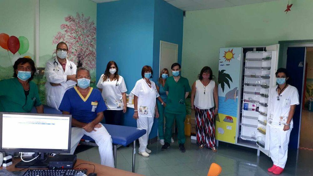 Ospedale di Battipaglia, attrezzata un nuovo locale del Pronto Soccorso Pediatrico