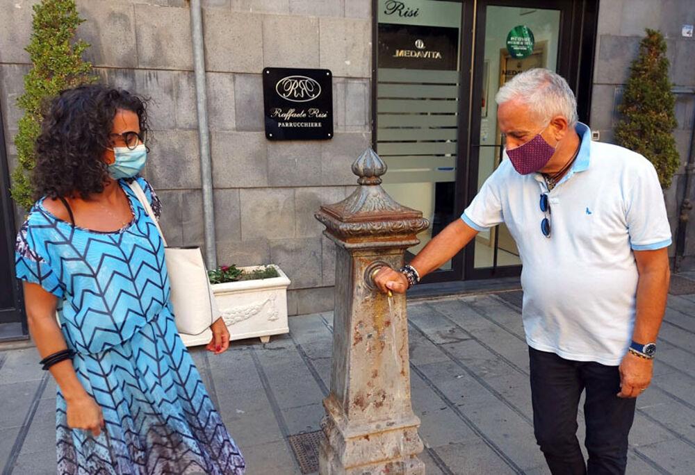 Lotta agli sprechi idrici: installato il sistema per il risparmio su ogni fontanella