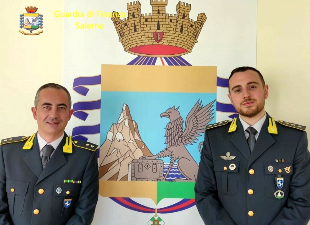 Cambio al vertice della Guardia di Finanza a Vallo: il nuovo comandante è Fabio Tufano