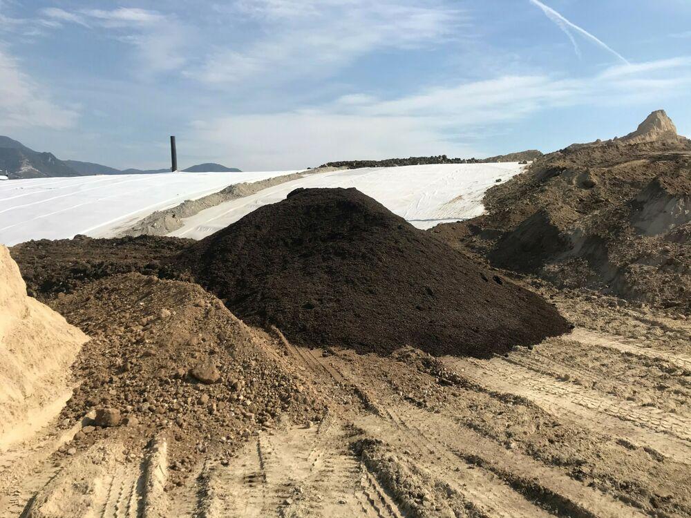 Economia circolare: il compost di Salerno utilizzato per la bonifica di Parapoti