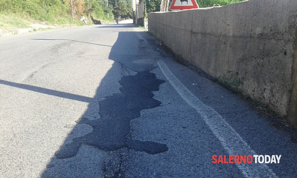 Pericolo frane nel Cilento: chiusa la ex SS447 tra Ascea e Pisciotta